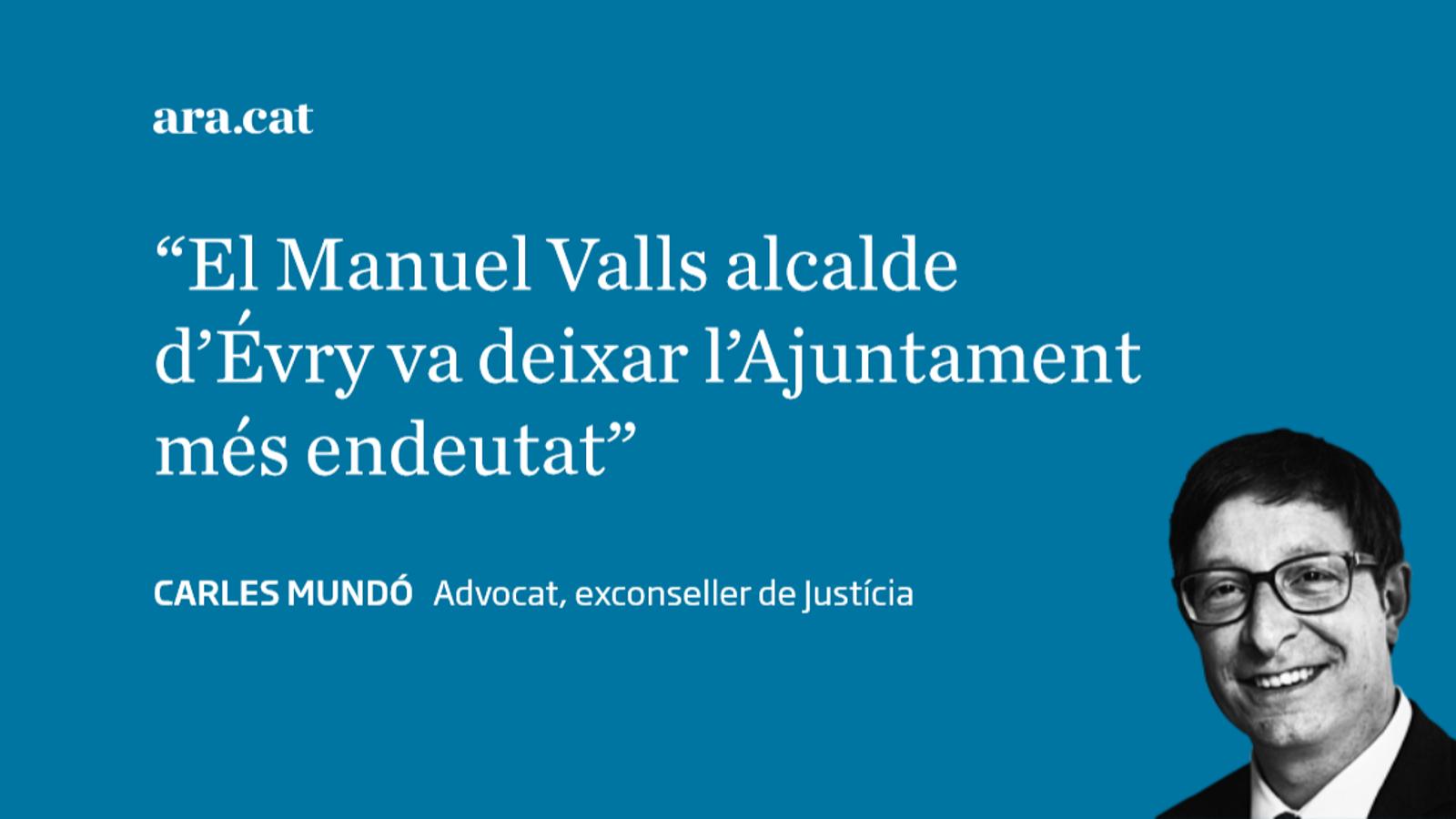 Manuel Valls, un llop amb pell de xai