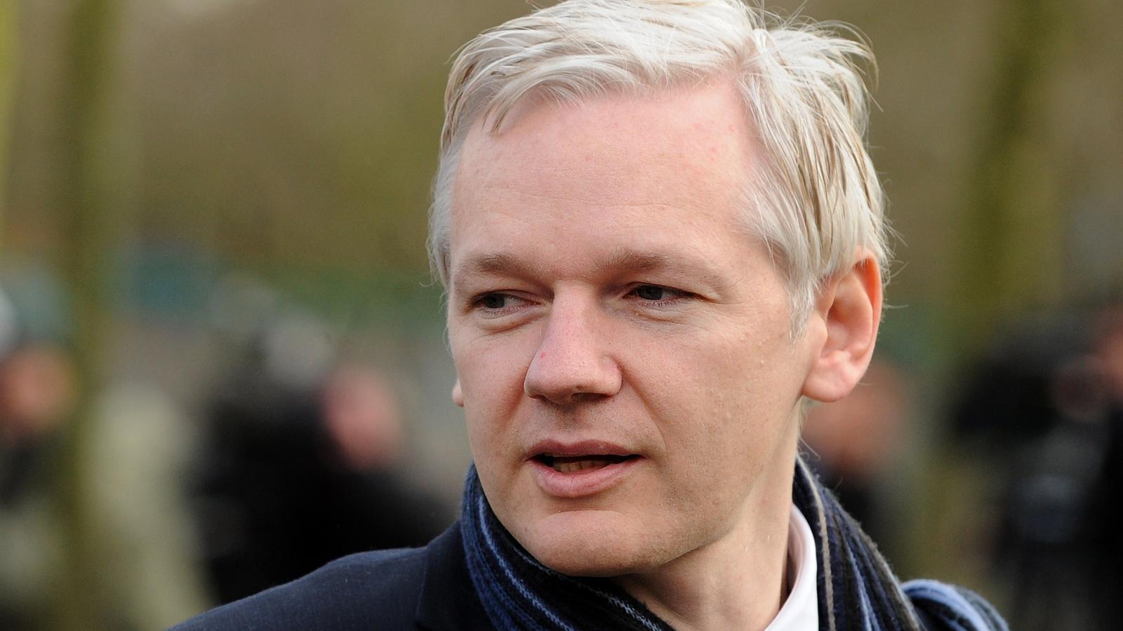 Julian Assange, el fundador de Wikileaks. AFP