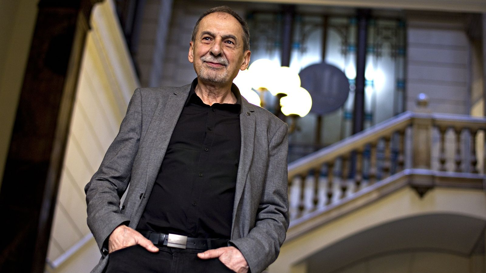 El dramaturg Josep Maria Benet i Jornet
