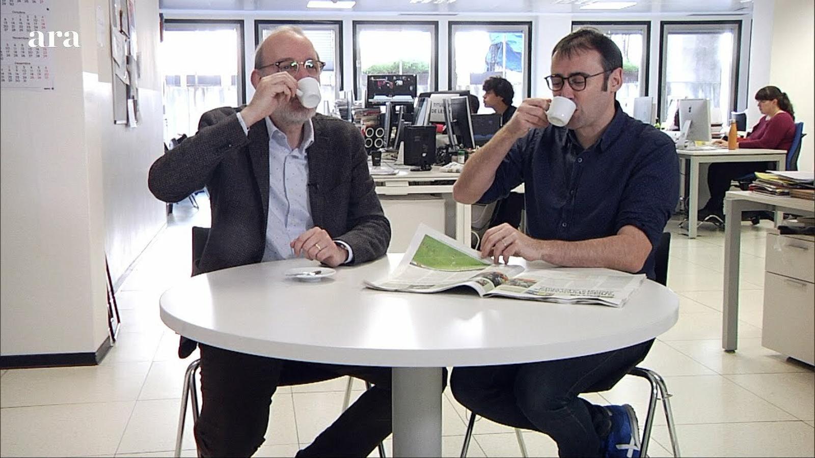 """El cafè de la Lliga: """"Potser és el pitjor Barça líder de tota la història"""""""