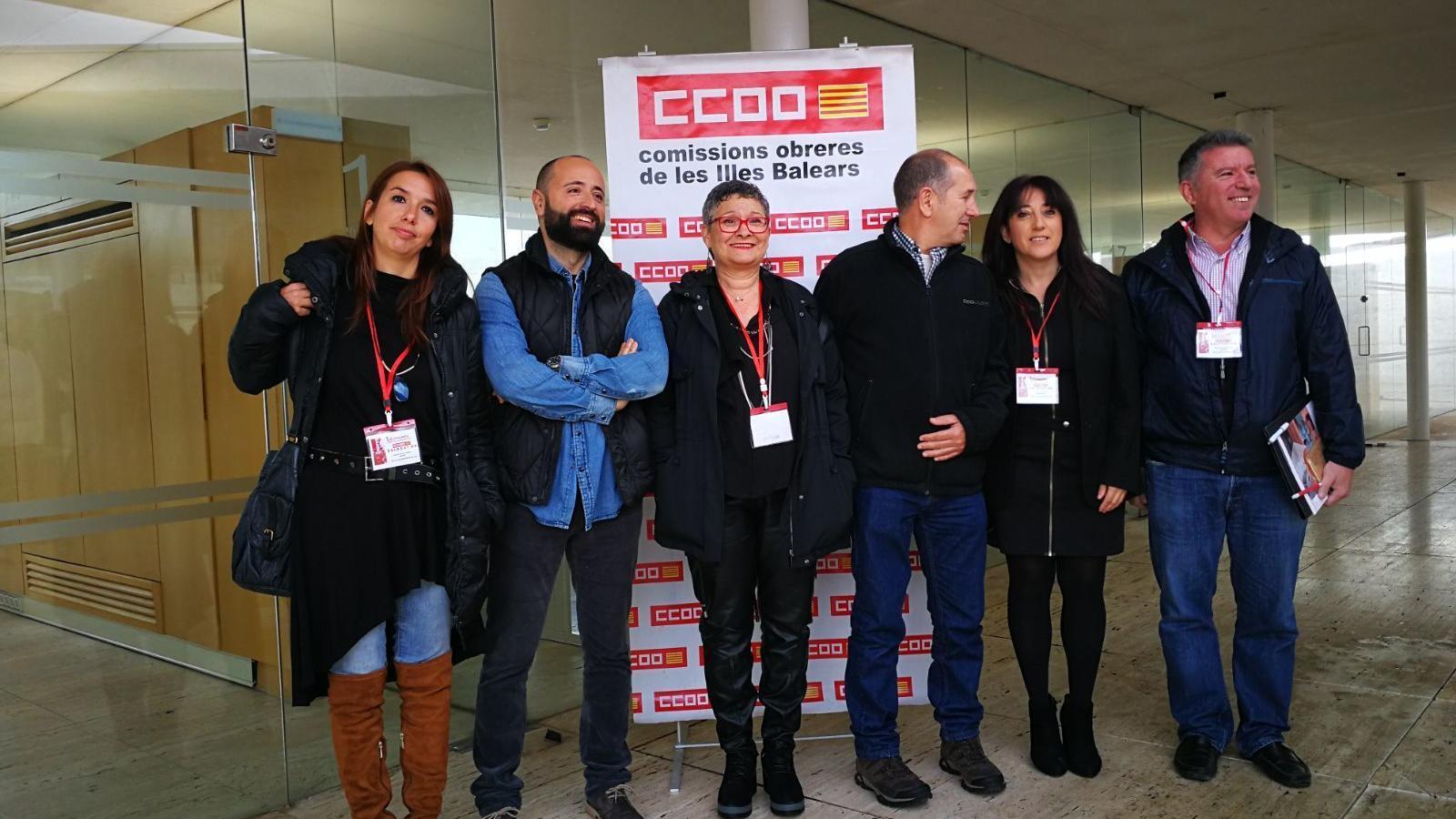 CCOO celebra el primer congrés de la Unió Insular de Mallorca
