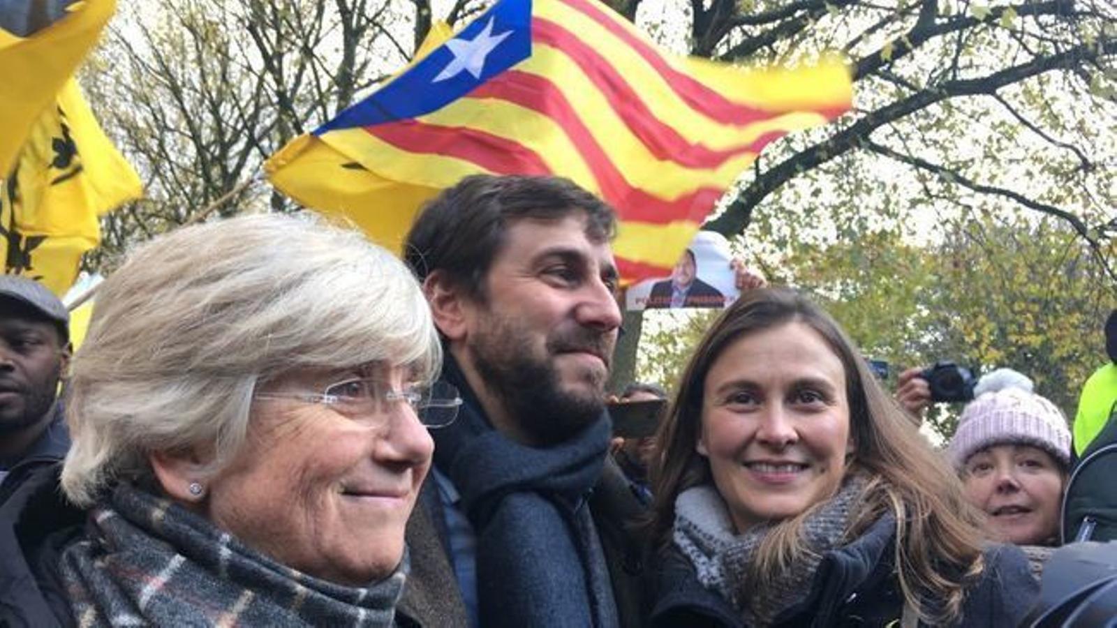Una decisió inèdita que deixa els exiliats amb llibertat de moviments fora del territori espanyol