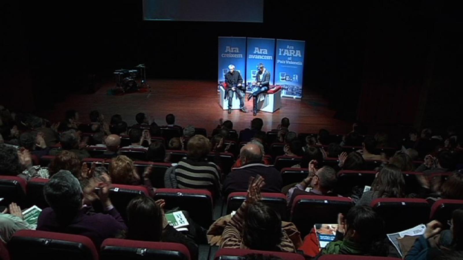 Joan Baldoví, de la coalició Compromís: Esperàvem un mitjà que parlara com els que diem bon dia quan mos alcem