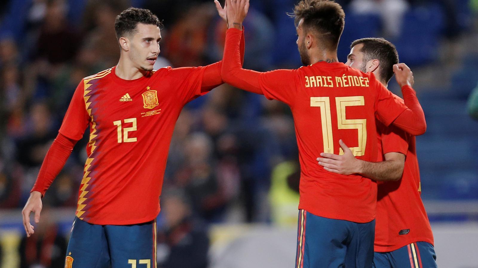 Hermoso debuta en la victòria d'Espanya en un amistós contra Bosnià (1-0)