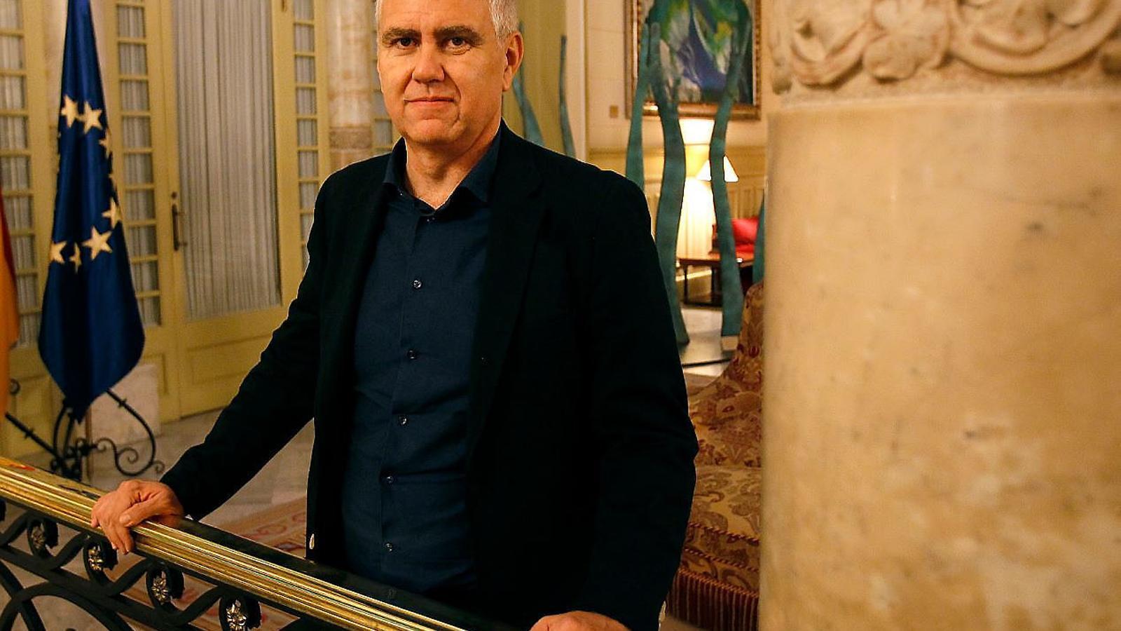 """Josep Melià: """"Connectar l'aeroport amb el metro i el tren és la gran obra pendent a Palma"""""""