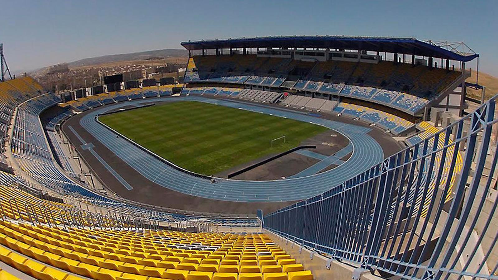 L'estadi Stade Ibn Battouta de Tànger serà la seu de la Supercopa d'Espanya que disputarà el Barça contra el Sevilla.