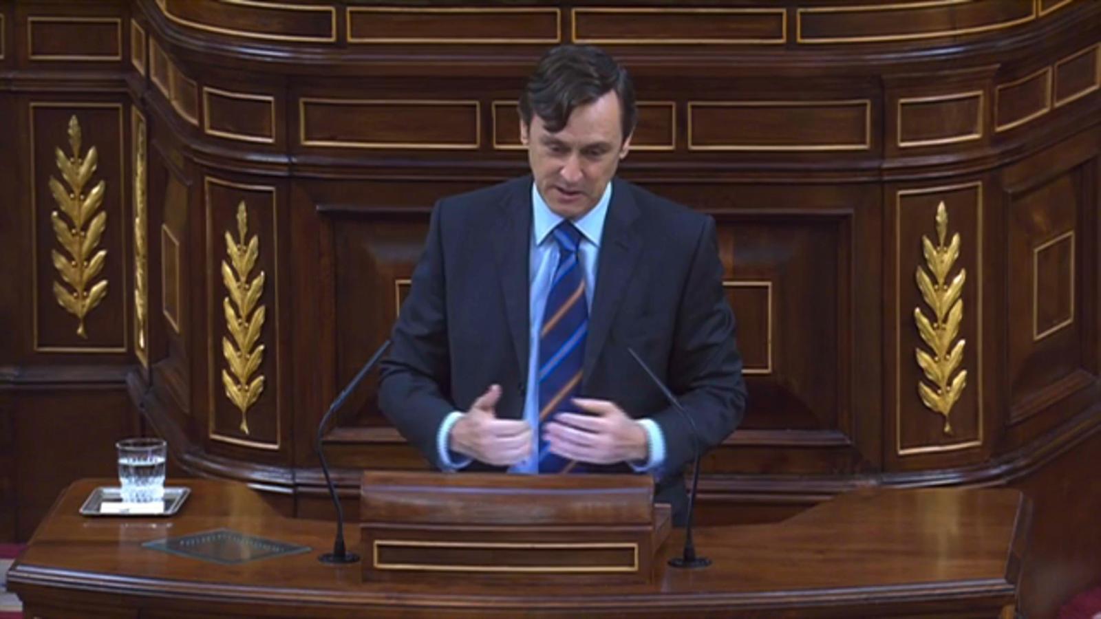 Hernando indigna Podem al parlar de la relació d'Iglesias i Montero