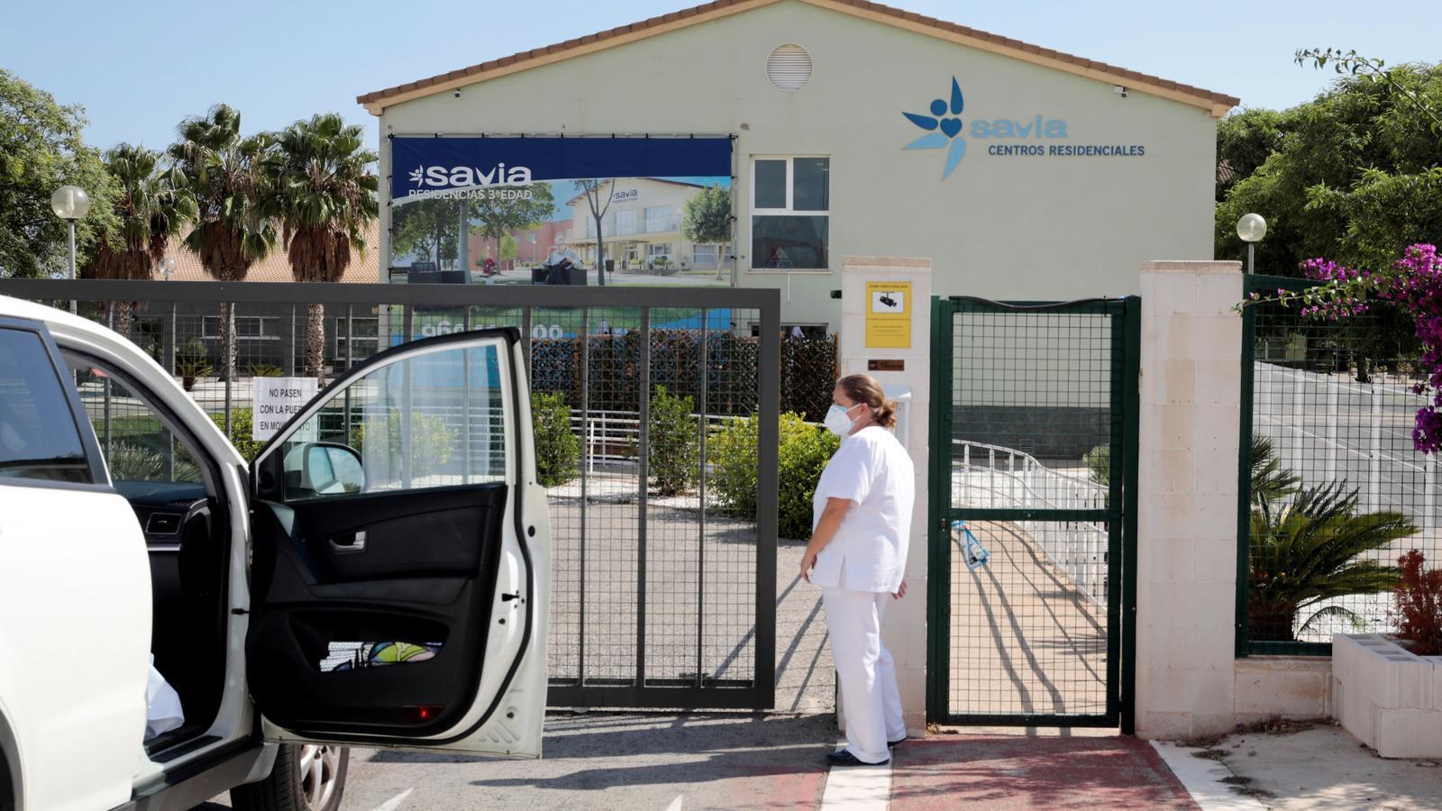 Geriàtric on s'han detectat 107 residents i 31 treballadors infectats
