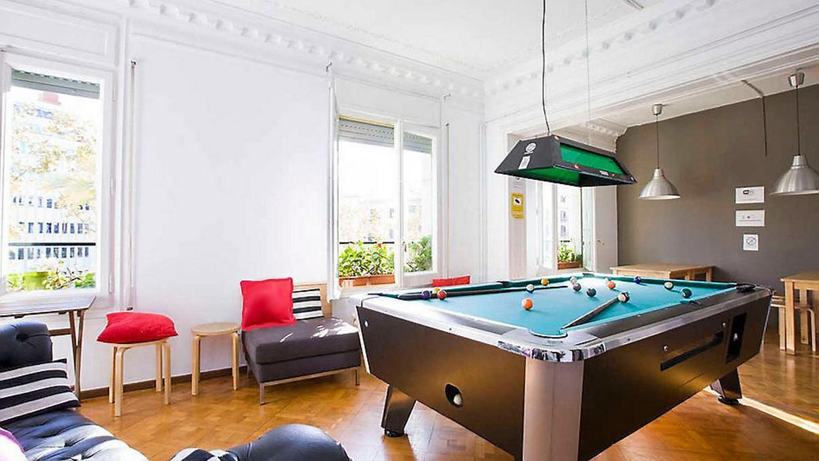 Un país per confinar-s'hi WOW Hostel Barcelona Preus d'hostal en  un allotjament que és com un hotel