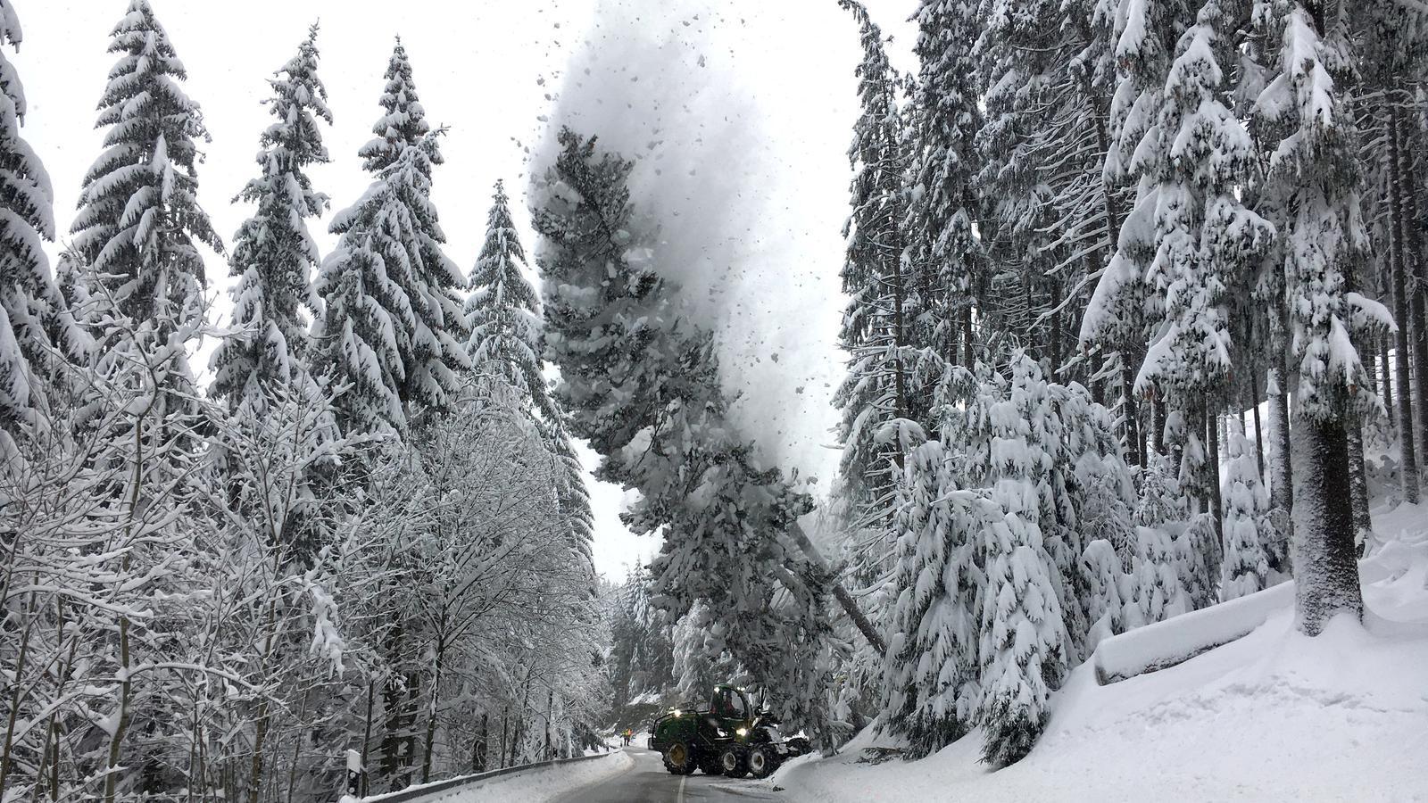 Un nou temporal de neu apunta cap als Alps entre aquesta tarda i dilluns
