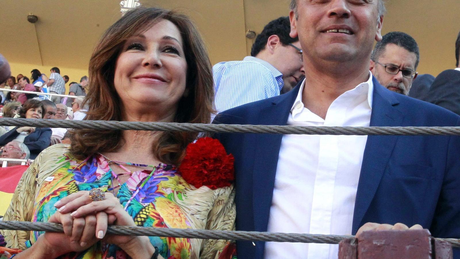 Ana Rosa Quintana i el seu marit, Juan Muñoz, en una imatge d'arxiu