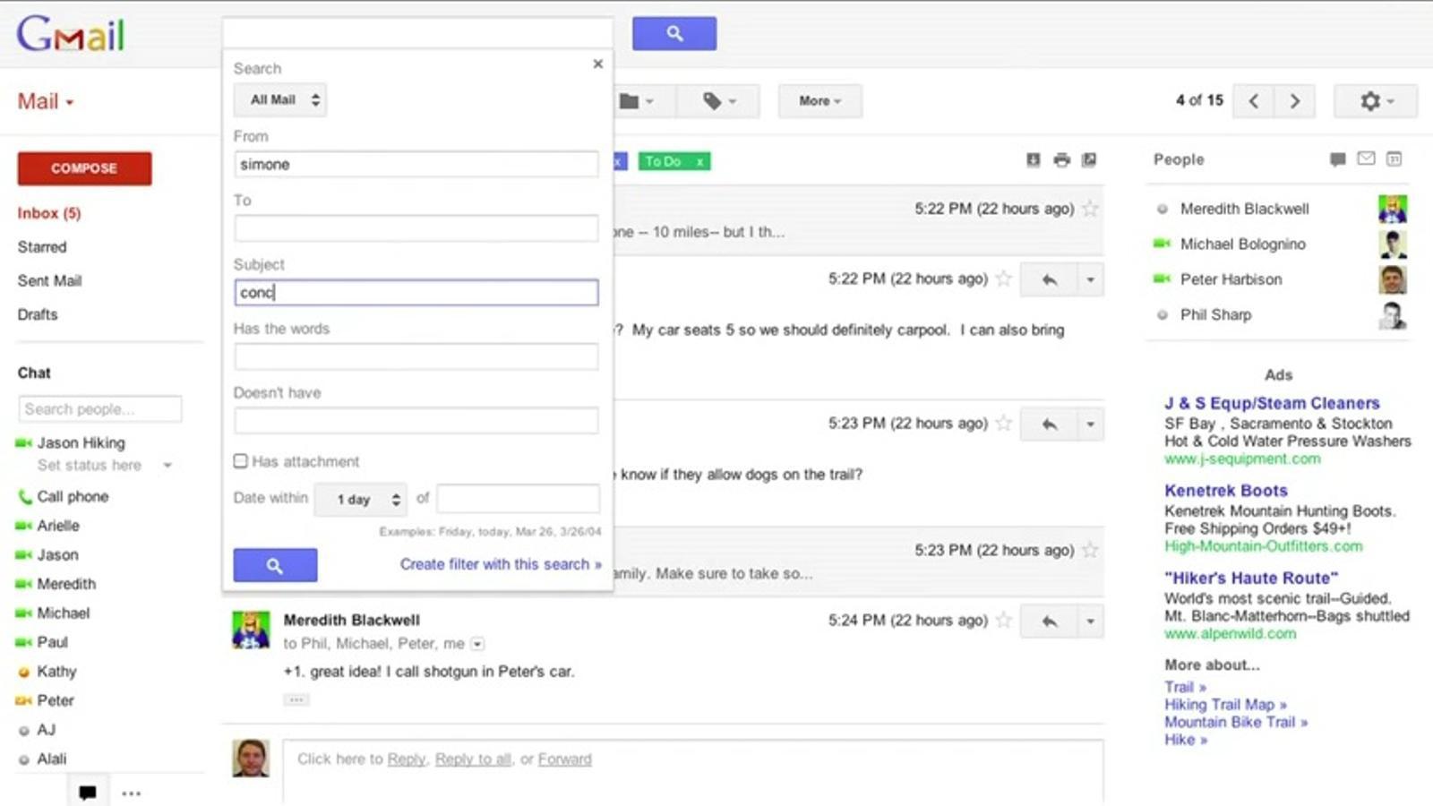Gmail presenta rentat de cara: nou disseny i millora en les cerques