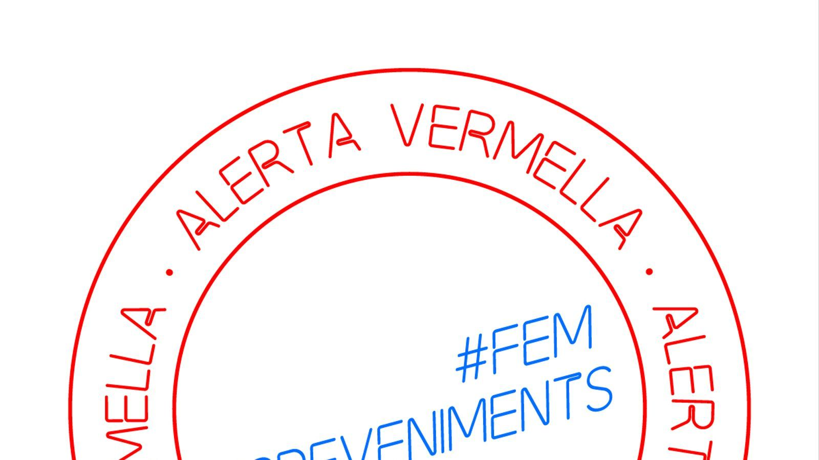 Imatge de la plataforma Alerta Vermella