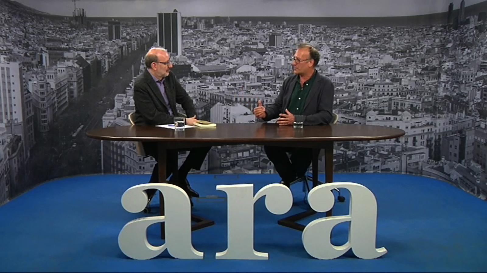 Entrevista d'Antoni Bassas a Xavier Antich