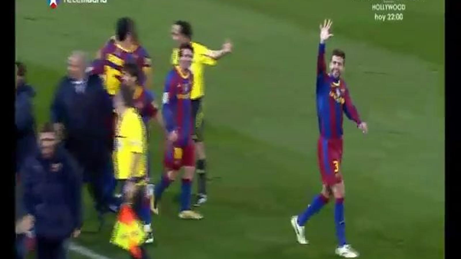 Telemadrid diu que Guardiola no vol Piqué al Barça la propera temporada