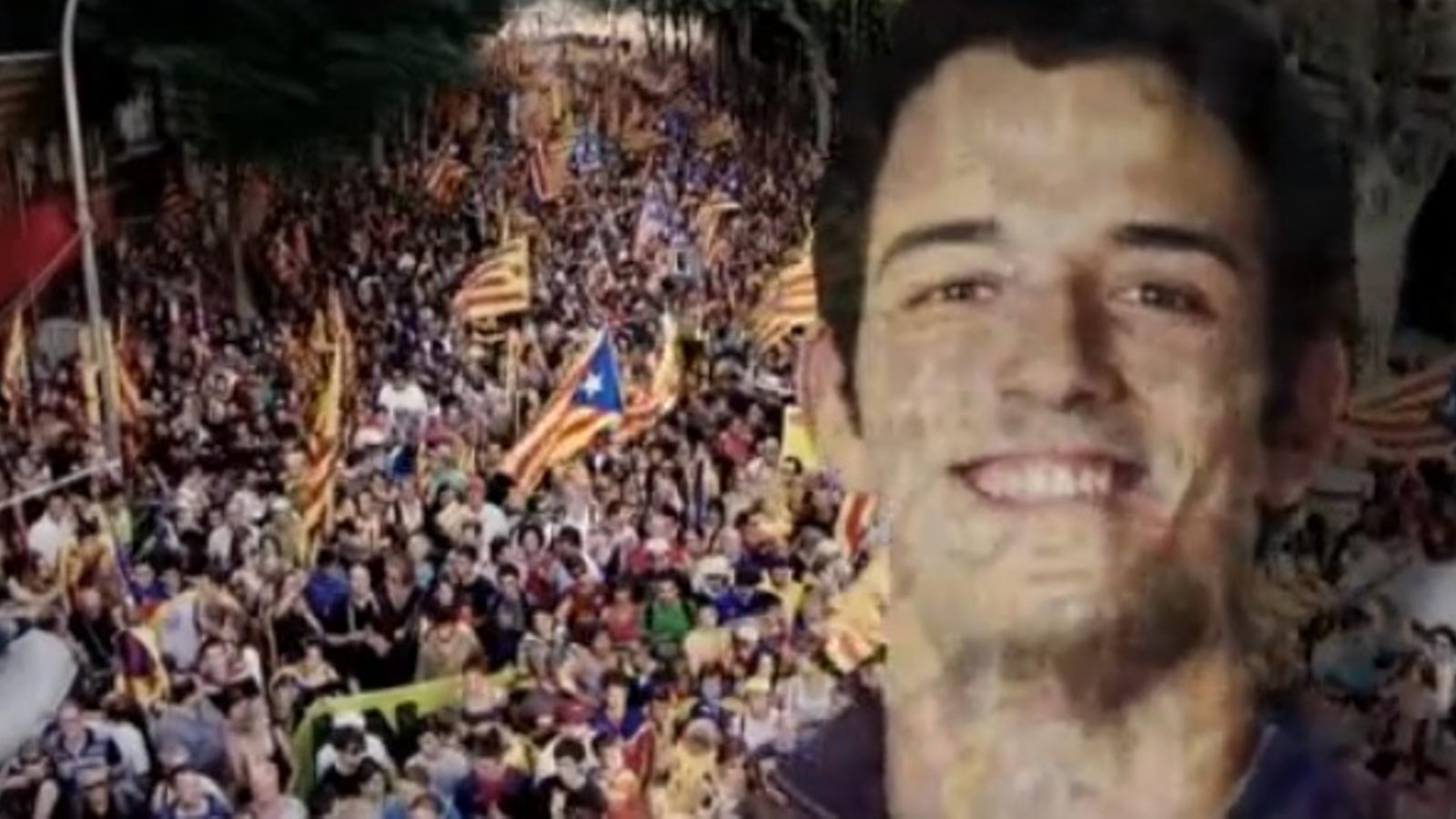Jo vaig ser a l'última Diada, la campanya institucional de la Generalitat per al 25-N