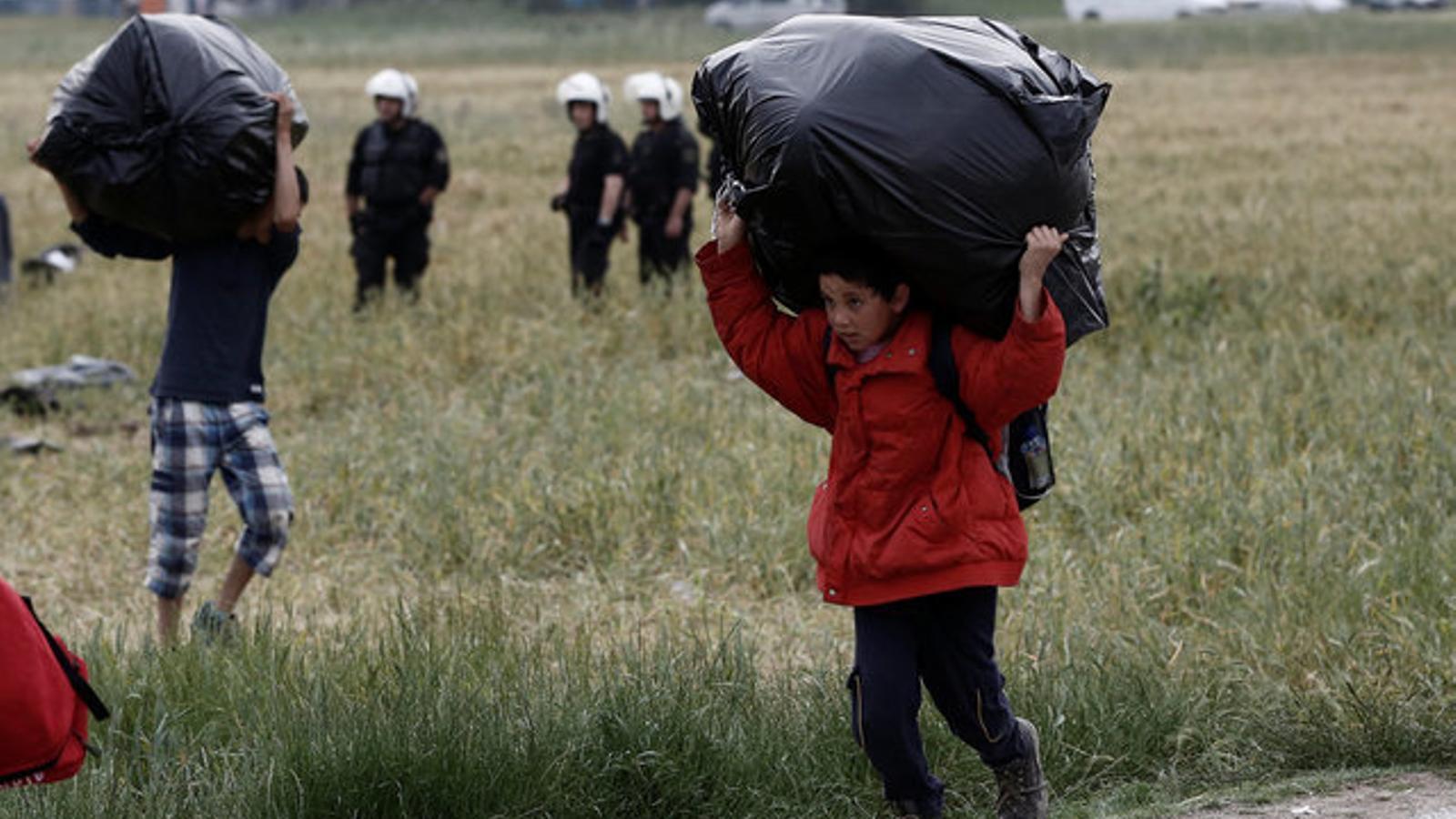"""""""L'evacuació s'està produint de forma tranquil·la"""", explica MDM des d'Idomeni"""