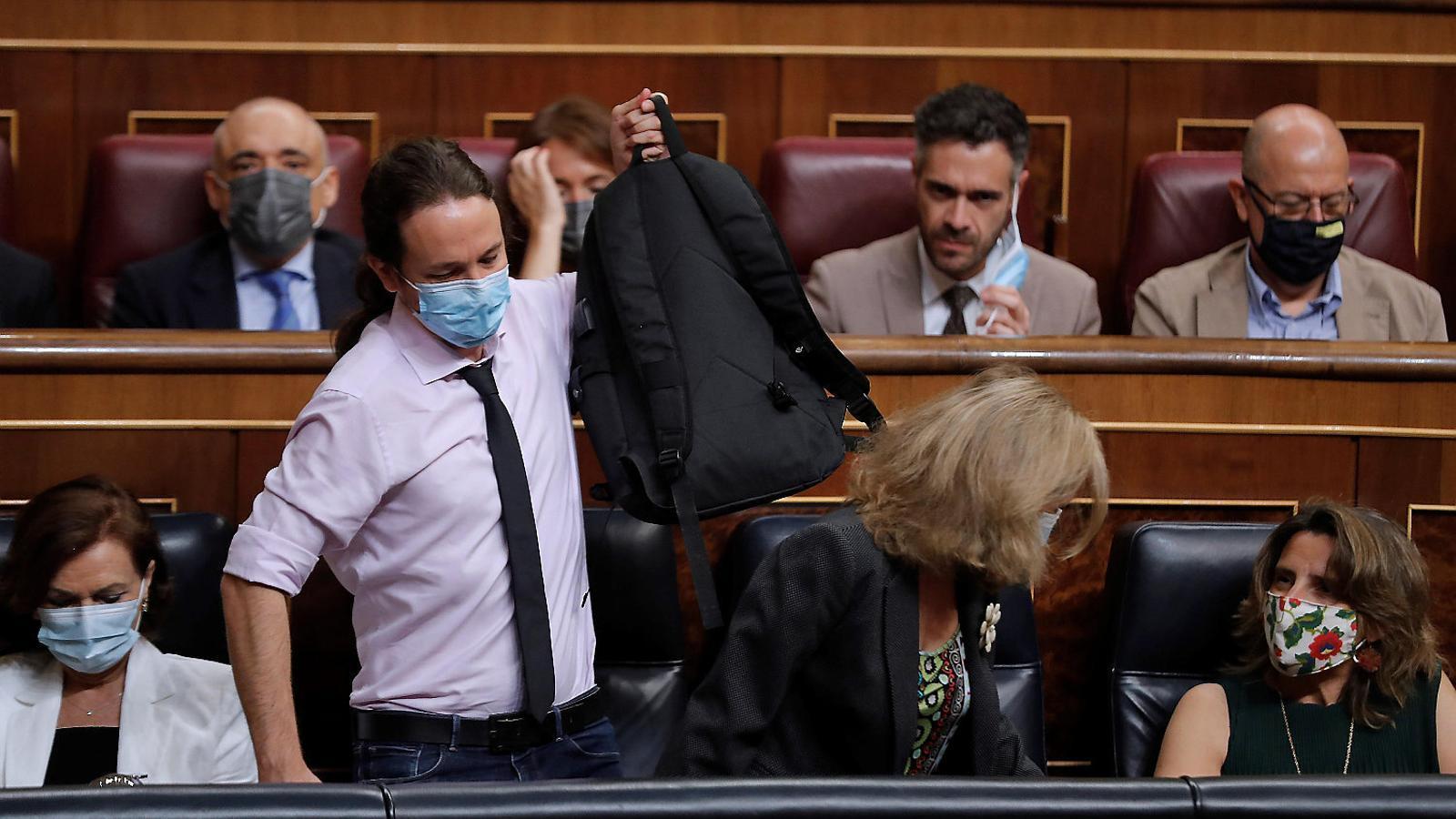 El front judicial enxampa Podem en el seu pitjor moment