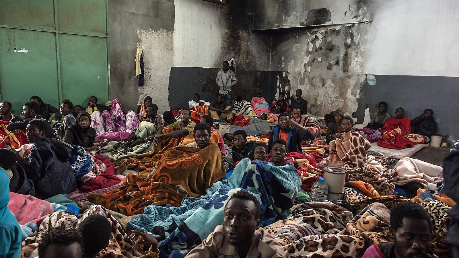 Esclaus a Líbia, una veritat només explicada a mitges