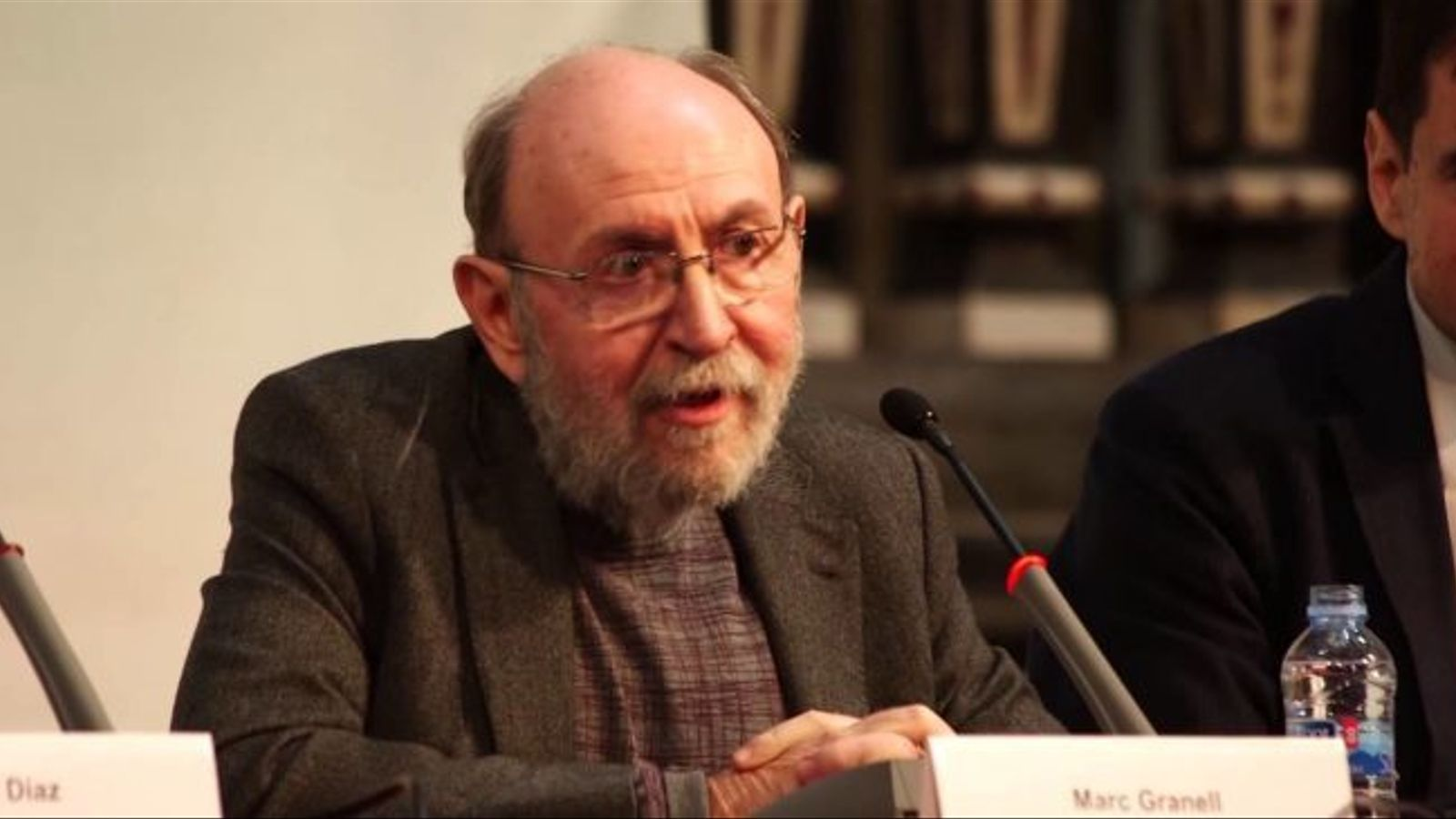 El poeta Marc Granell rep el Premi de les Lletres de la Generalitat Valenciana