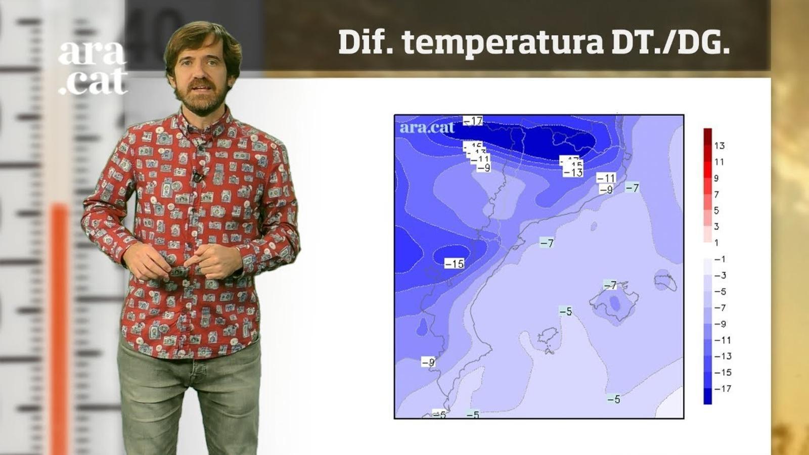 La méteo en 1 minut: més calor abans de la primera visita de l'hivern