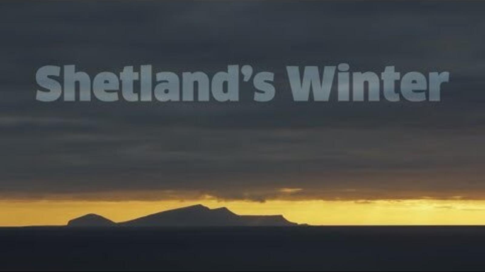 Les Shetland durant l'hivern. El territori més septentrional del Regne Unit pertany a Escòcia