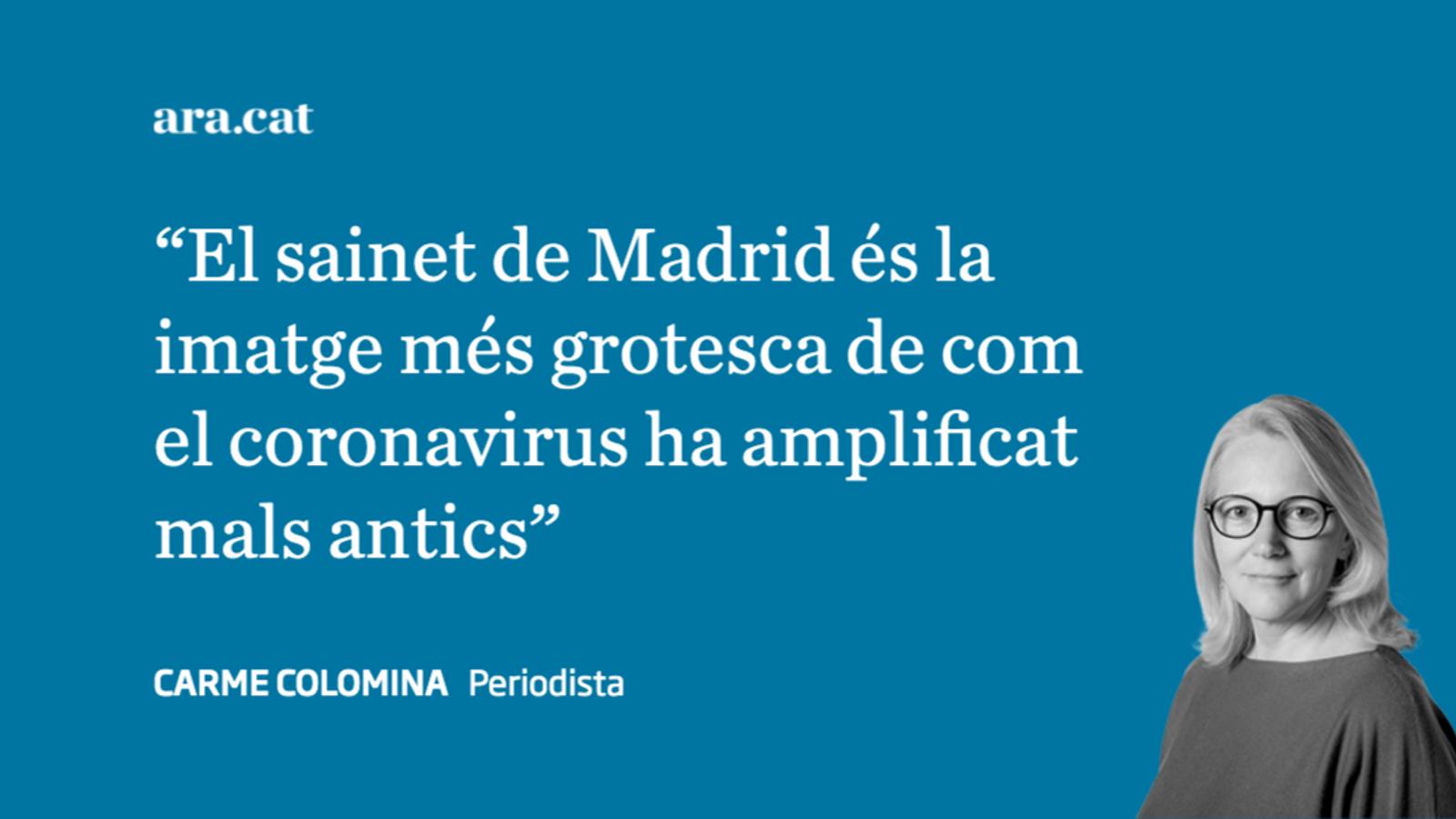 Les divisions territorials de la pandèmia