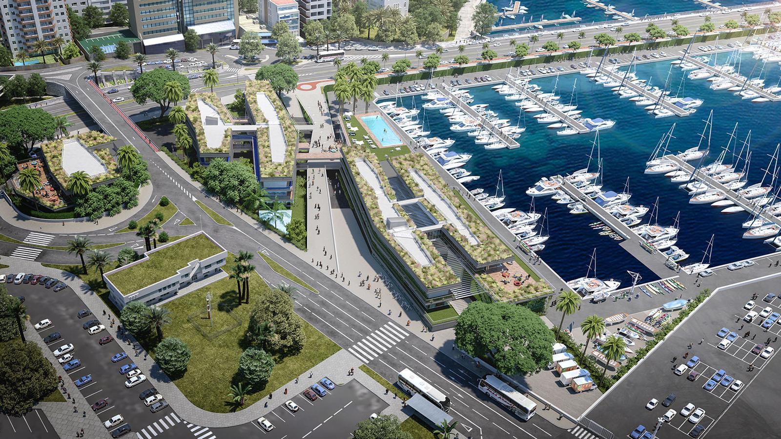 VOPSA i FCC executaran el projecte de reforma de Club de Mar de Palma