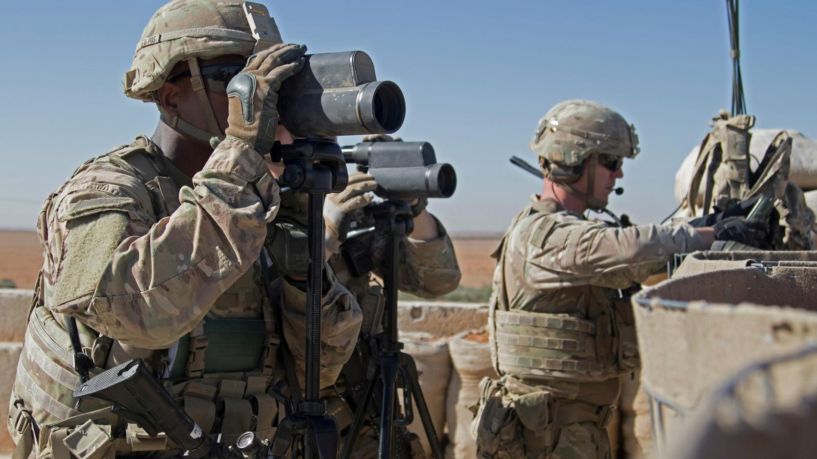 Patrulla nord-americana a Síria