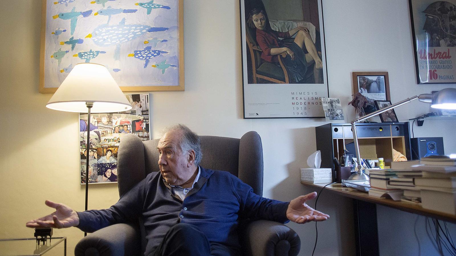 """Joan Margarit: """"Fer un poema és molt més difícil que morir-se"""""""
