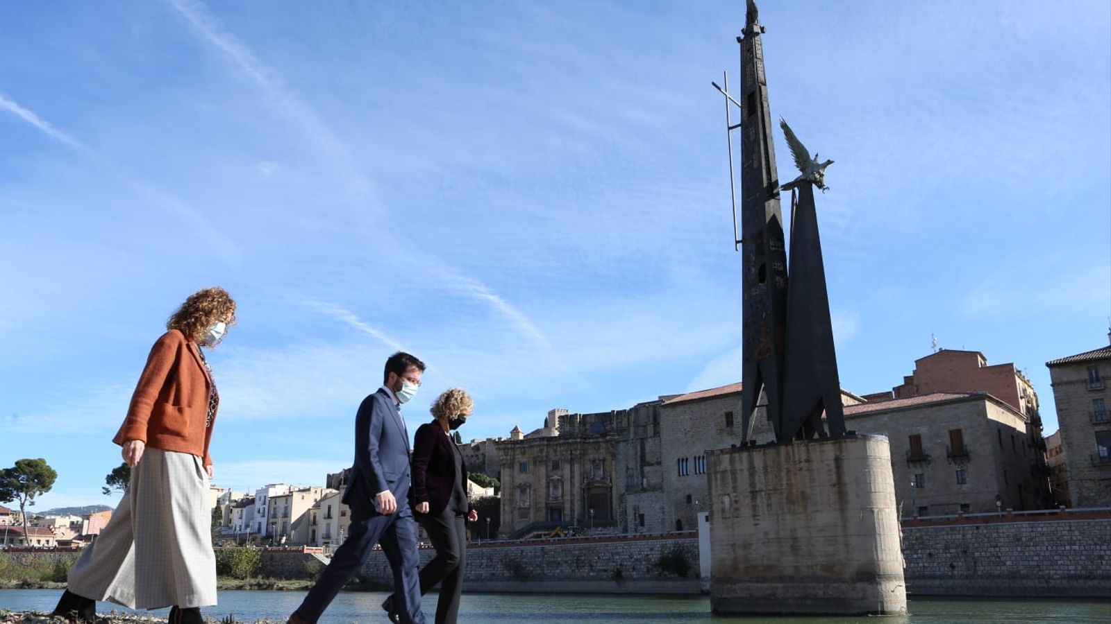 La Generalitat desmantellarà el monument franquista de Tortosa aquest estiu