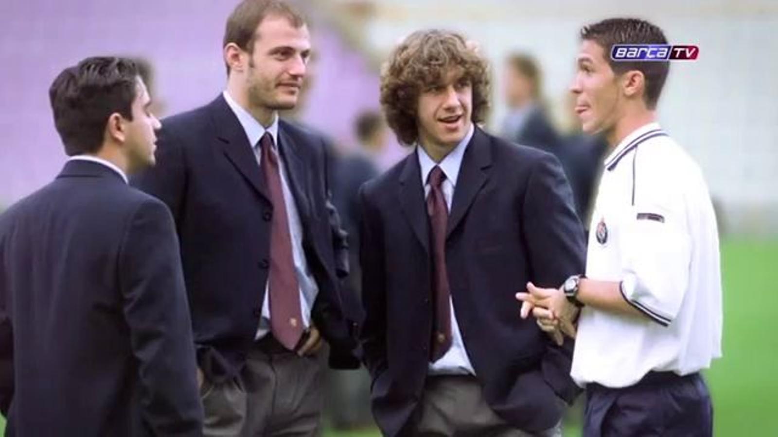 El debut de Carles Puyol amb el primer equip del Barça