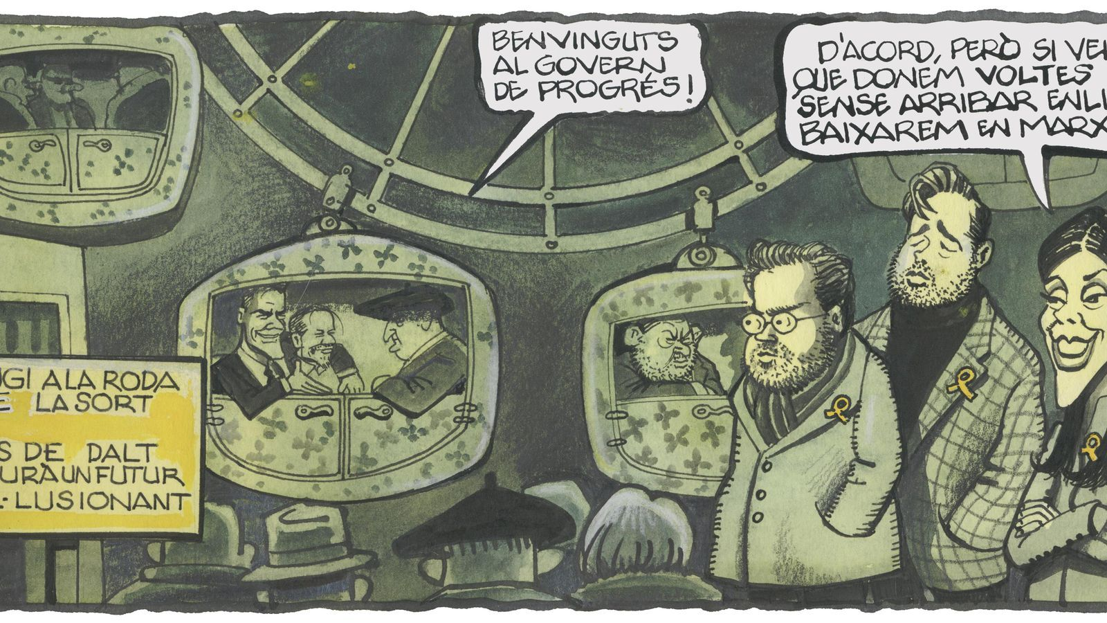 'A la contra', per Ferreres 08/01/2020