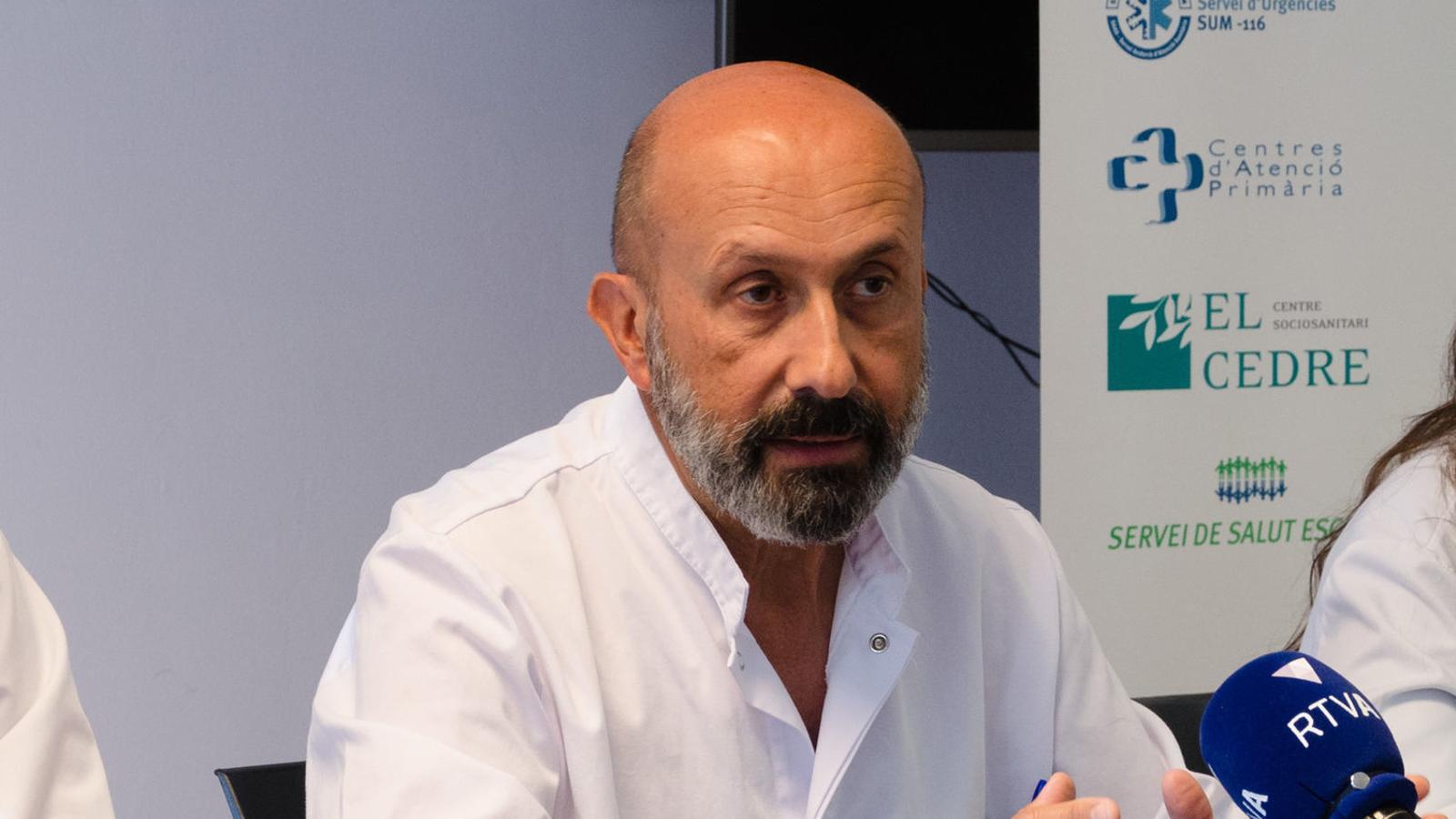 El director assistencial del SAAS, Joan Martínez Benazet. / ARXIU ANA