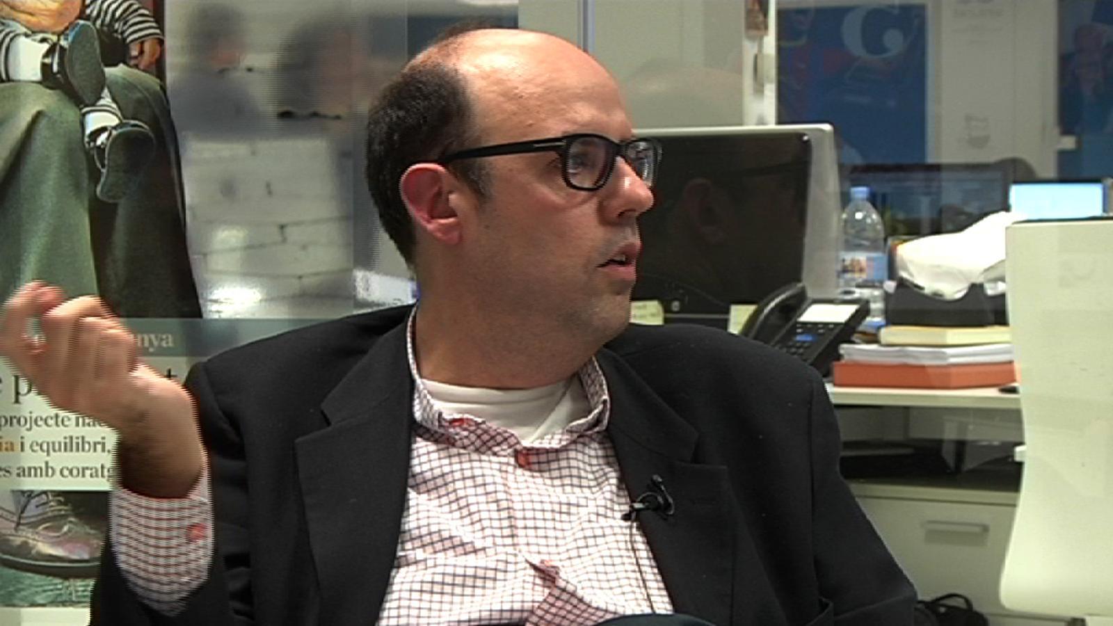 Jordi Basté: Les bronques de Puyal eren llibres d'estil