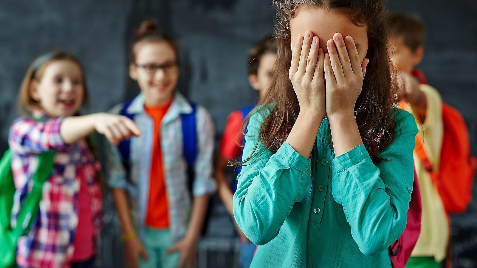 Dolor a l'aula. 'Stop bullying'