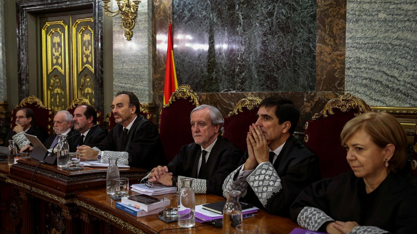 La Moncloa espera una sentència per sedició