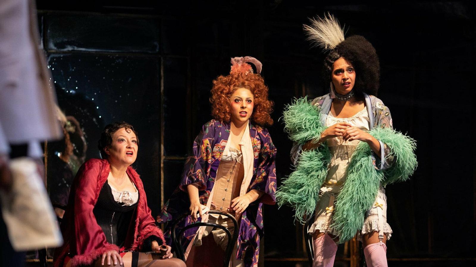 La comèdia Mesura per mesura amb la Royal Shakespeare Company.