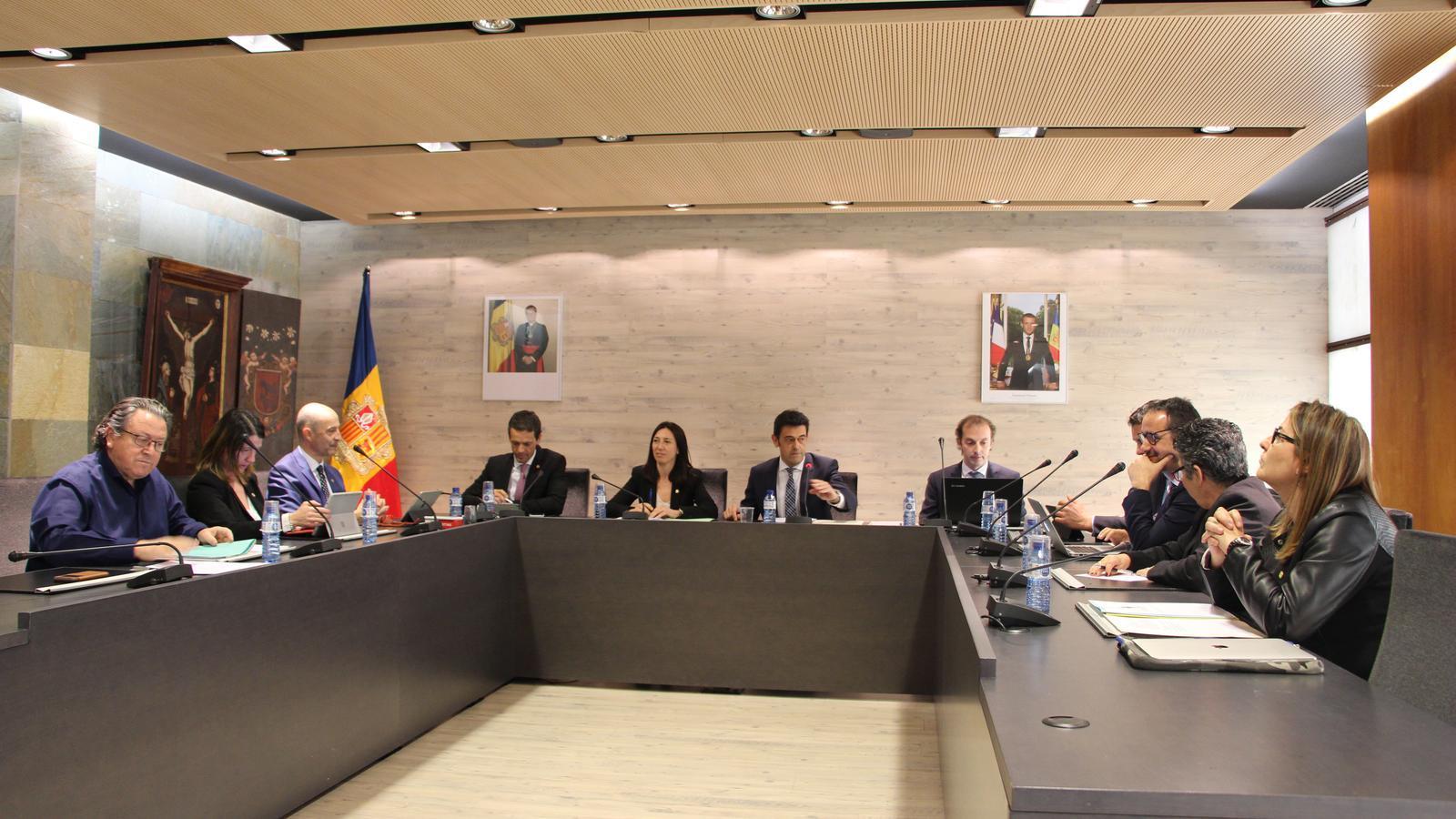 Sessió del consell de comú d'Ordino. / A.S. (ANA)