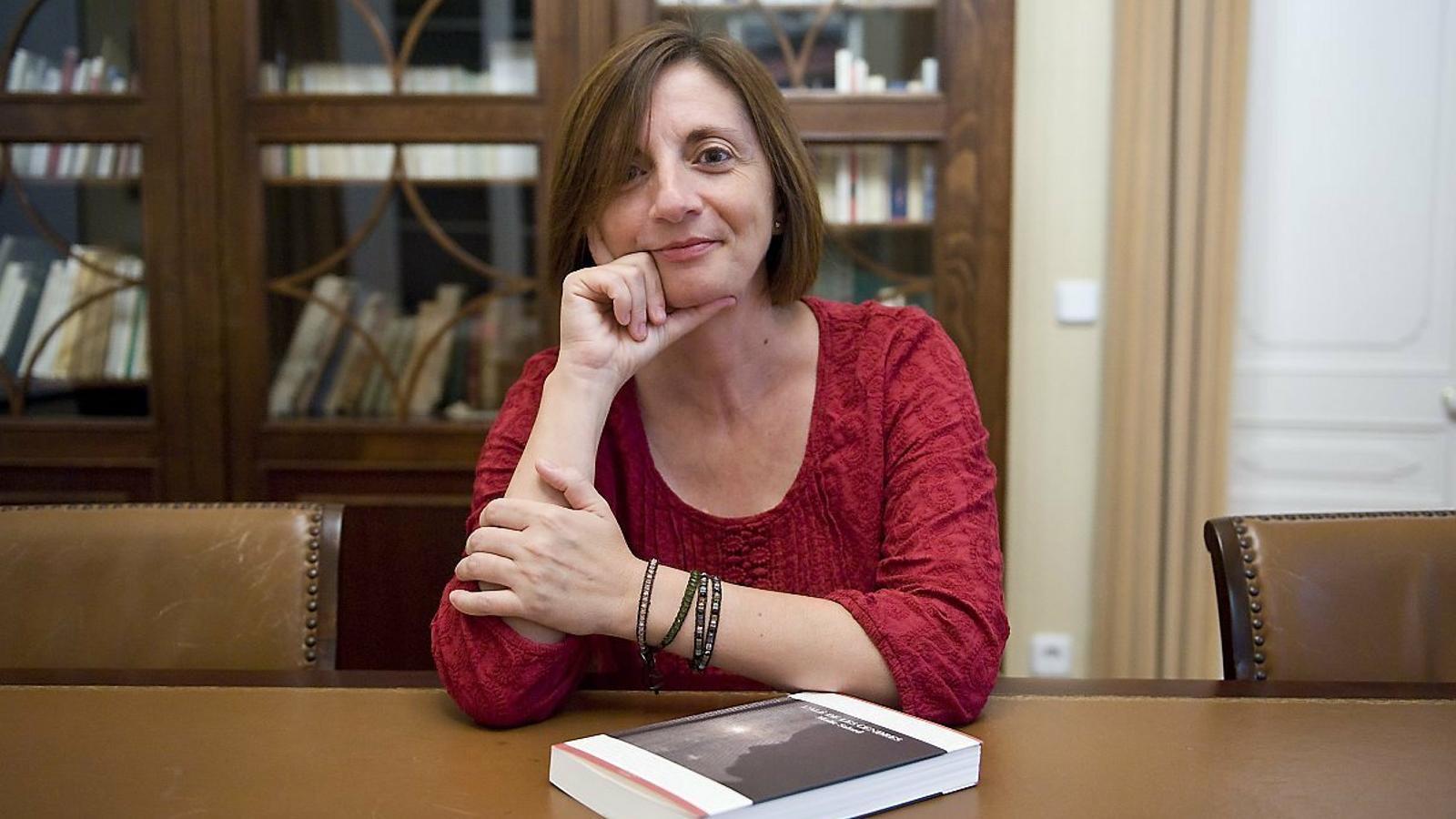 La líder de Més per Menorca confia en obtenir el pròxim diumenge un bon resultat a les urnes.