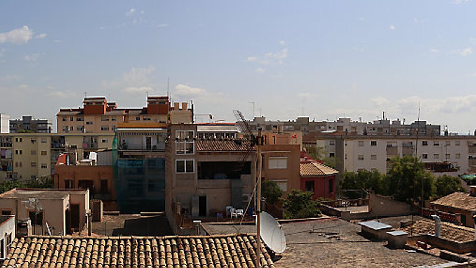 Vista panoràmica del barri de la Soledat.