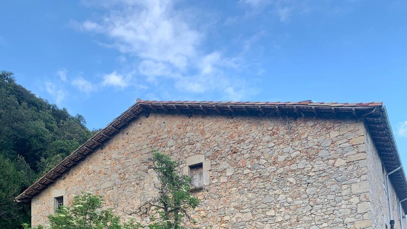 Mas Puli,  on va néixer Josep Vergés, a Sales de Llierca