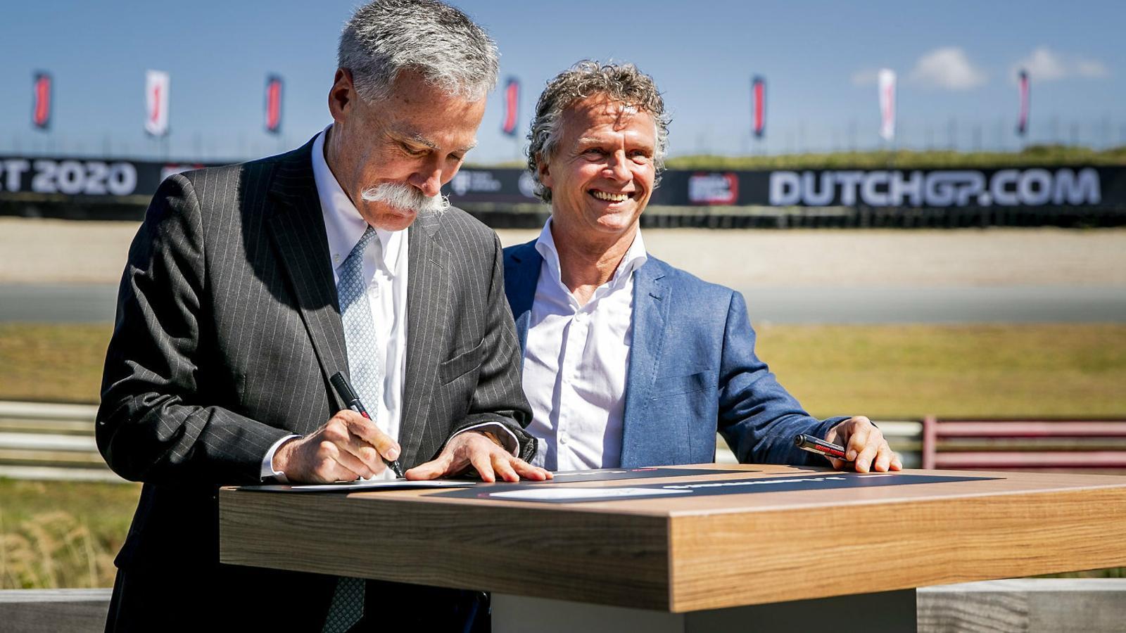 Holanda recupera la F1 gràcies a les empreses