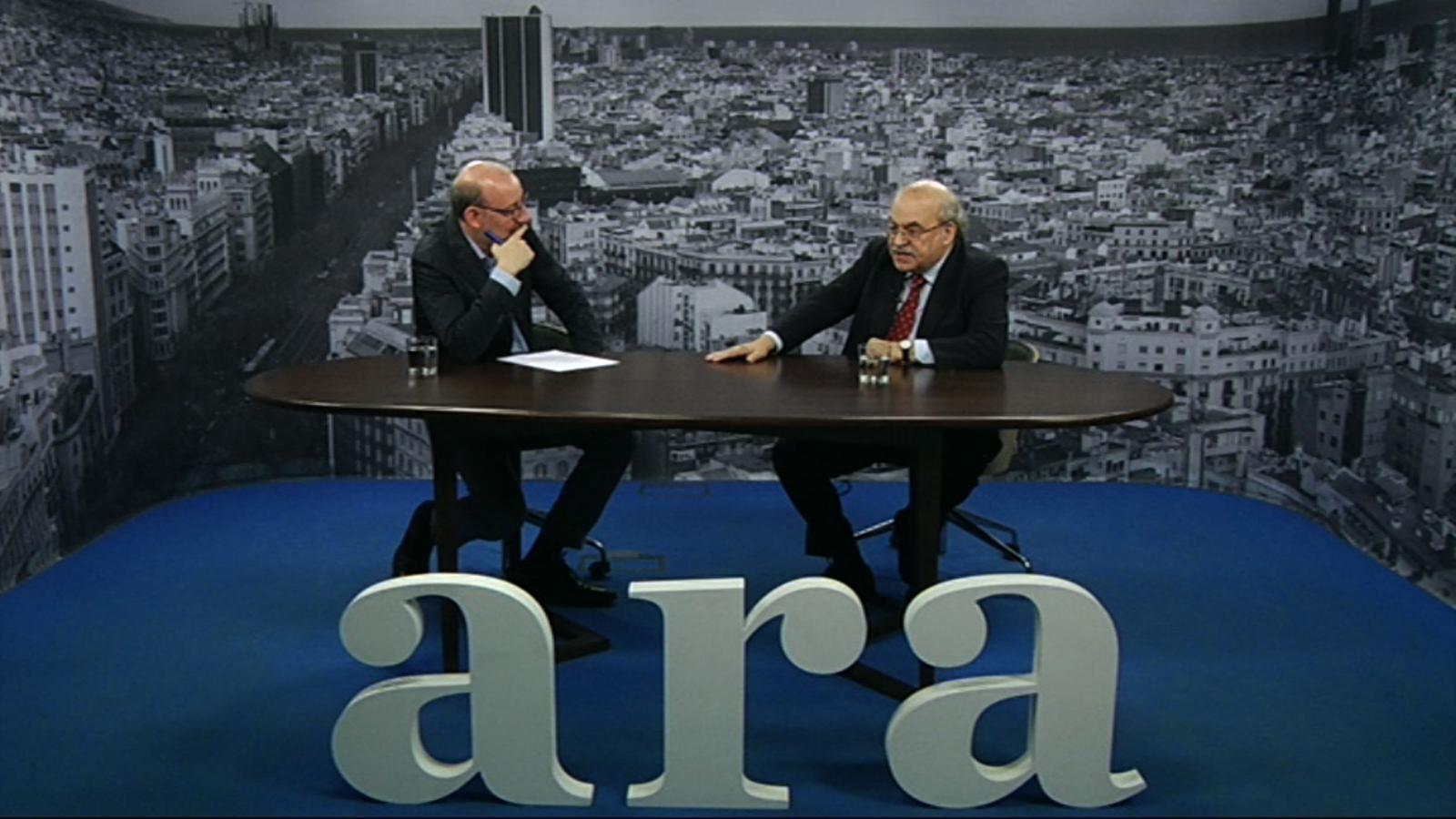 Entrevista d'Antoni Bassas a Andreu Mas-Colell