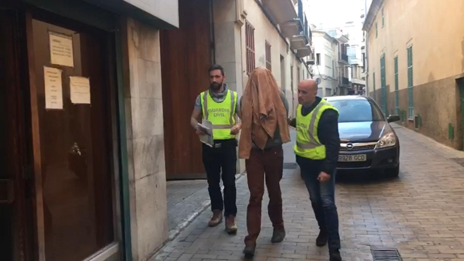 Els tres atracadors que varen assaltar una finca a Porreres passen a disposició judicial