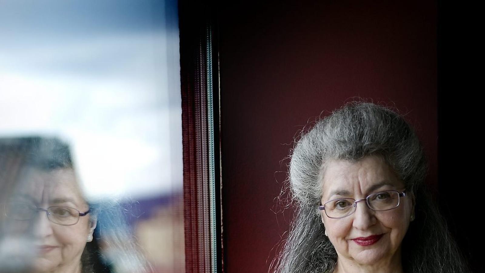 La professora Liah Greenfeld va ser a Barcelona convidada per la Càtedra Josep Termes de la Universitat de Barcelona.