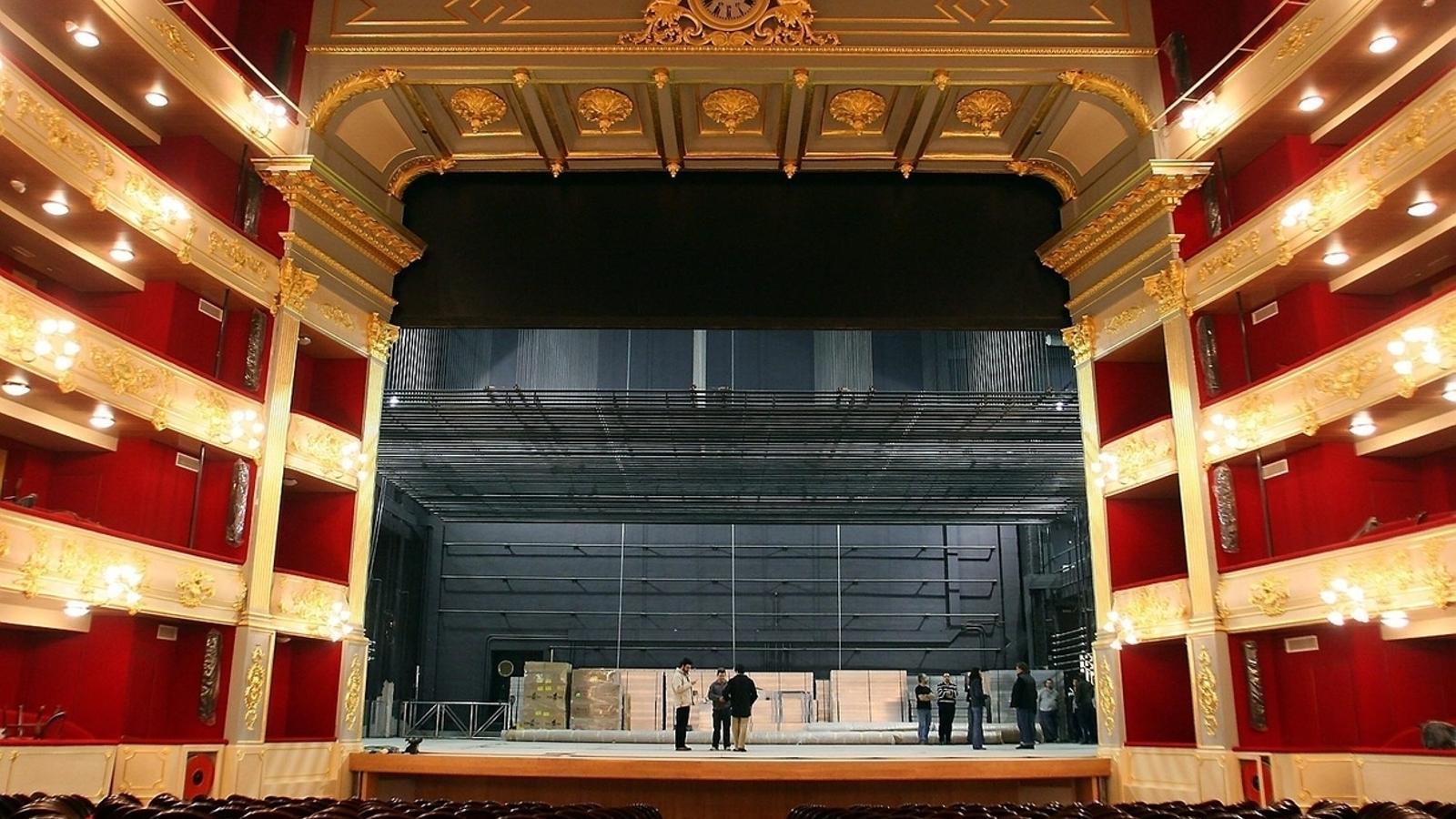 Imatge d'arxiu del teatre Principal.