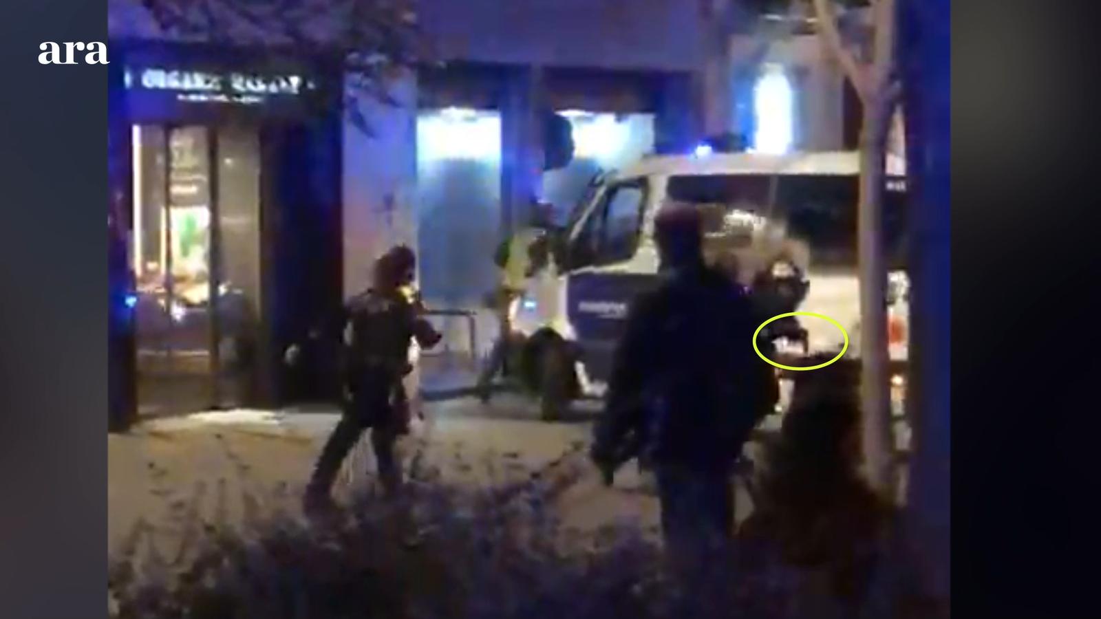 El tiroteig de la Guàrdia Urbana al sensellar