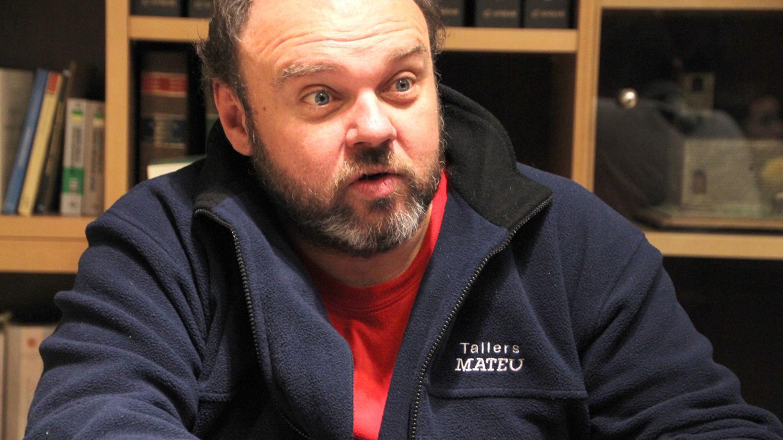 El secretari general de l'USdA, Gabriel Ubach / ANA