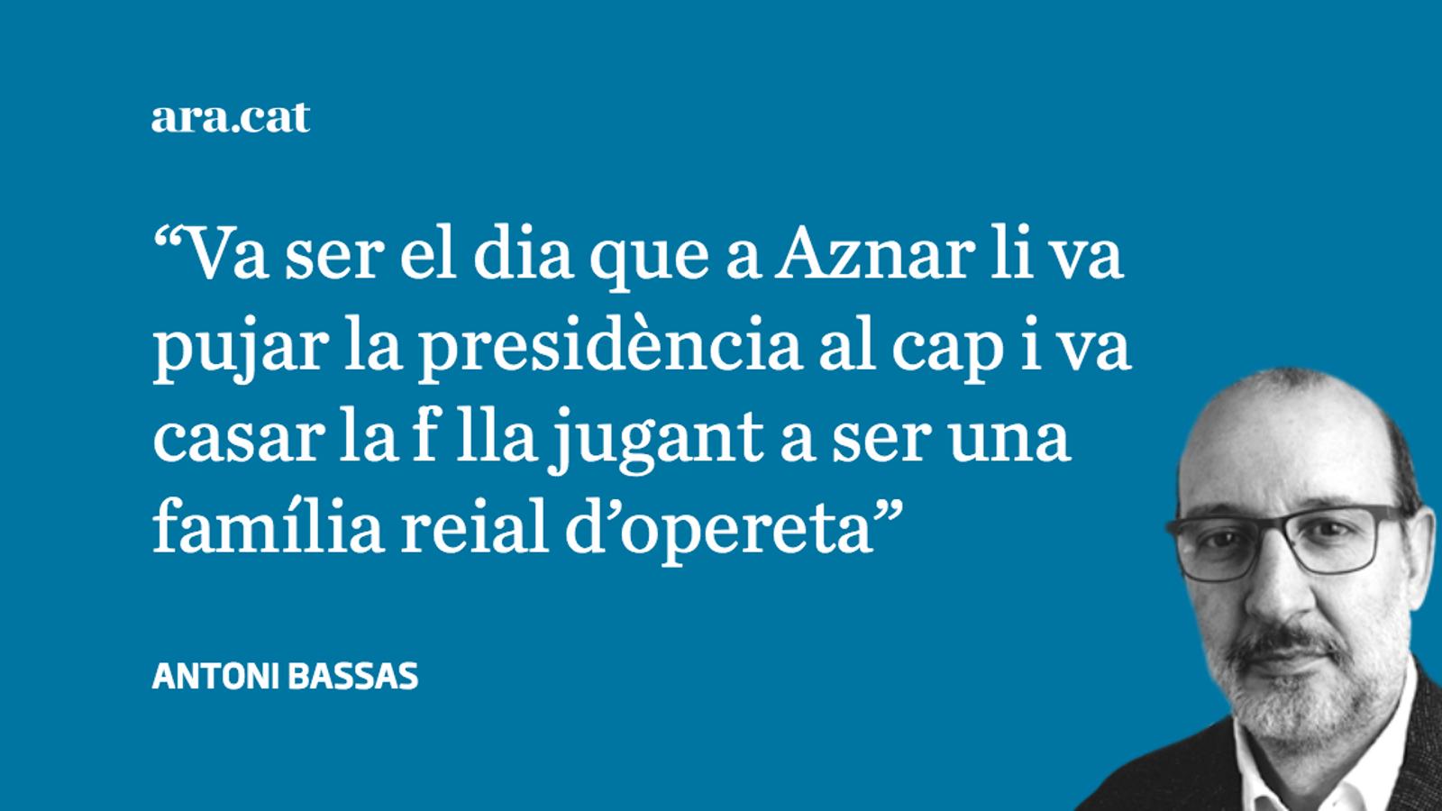 "Aznar: ""No era la meva boda"""